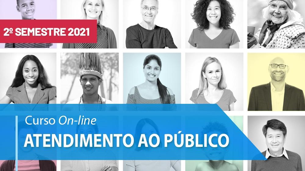 Curso de Atendimento ao Público - 2º sem/2021